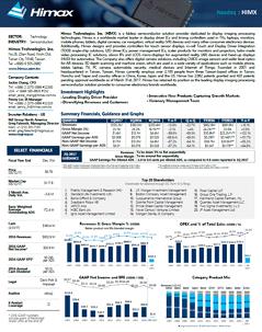 Factsheet preview